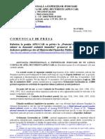 Proiectul OG privind unele masuri în domeniul evaluarii bunurilor - Pozitia APEJ-CAB