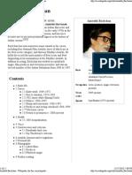 Amitabh Bachan Biography