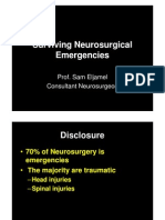 Surviving Neurosurgical Emergencies