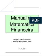 Manual de Matemática Financeira, Aldery Junior 2009