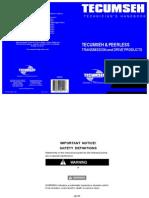 Tecumseh Transaxle Service Information p2333