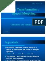 Speech Morphing 2 Info]