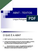 ABNT-TEXTOS