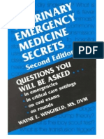 Veterinary Emergency Medicine Secrets