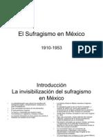 El Sufragismo en México