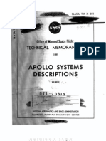 Apollo Systems Description Saturn Launch Vehicles