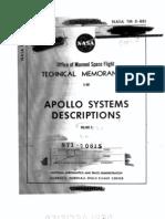 Apollo Systems Description Saturn Launch Vehicles