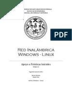 Red Inalámbrica Windows y Linux