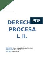 Trabajo 1 Derecho Procesal II