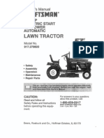 Craftsman Mower Owner Manual