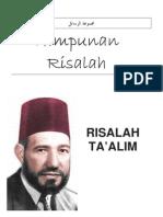 Risalah Ta'Alim - Hassan Al-Banna - (Himpunan Risalah - Majmuah Rasail)