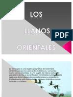 PRESENTACIÓN LOS LLANOS ORIENTALES