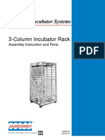 3-Column Incubator Rack - Assembly & Parts
