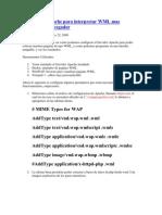 Configurar Apache Para Inter Pre Tar WML Mas Emulador y
