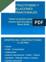 Constructivismo y Relaciones Internacionales