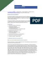 Métodos de Evaluación Auditiva