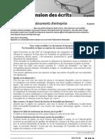 Delf Pro b2 Comprehension Des Ecrits Exercice 1