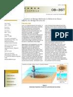 LTRC Capsule 08-3ST Evaluation of Design Methods to Determine Scour Depths for Bridge Structures