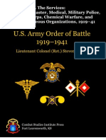 US Army Order of Battle 1919–1941 Vol4