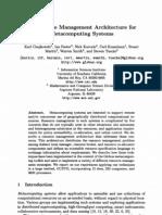 1998 - A Resource Management Architecture for Met a Computing Systems - Czajkowski Et Al
