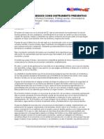 Gestion Del Riego y La Prevencion