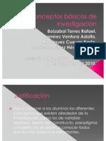 Elaboracion de Materiales Conceptos Basicos de Investigacion