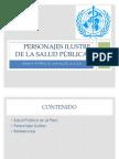 Peruanos ilustres de salud pública