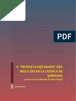 Musuq Llaqtakuna Del Siglo Xvi en La Cuenca de Qaracha (2)
