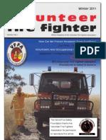 The Volunteer Fire Fighter Magazine - Winter, 2011