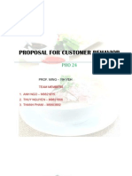 Consumer Behavior Proposal Pho 24