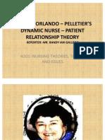 IDA JEAN ORLANDO – PELLETIER'S DYNAMIC NURSE –