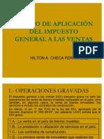 ÁMBITO DE APLICACIÓN DEL IMPUESTO GENERAL A LAS