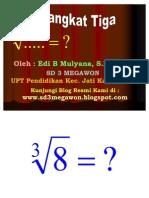 Akar Pangkat 3 - SD 3 Megawon