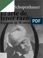 El Arte de Tener La Razon_schopenhauer