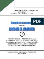 Asigurarea Calitatii in Constructii - Lucrarea 5