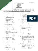 Math F2 Ujian 3 K1