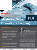 Mastering Sales Operation Planning