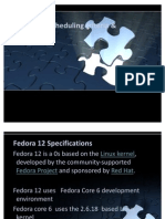 Fedora 12 Scheduling Criteria & Algorithms(1)