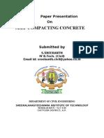 Self Compacting Concrete New