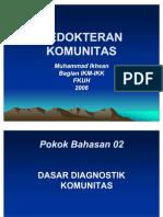 01-DASAR DIAGNOSTIK KOMUNITAS 2006