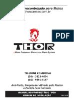 Manual Thor Moto
