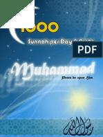 1000 Sunnah Per Day & Night [English Language]