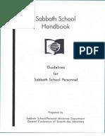 Sabbath School Handbook