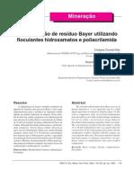 Artigo dedimentação Bayer