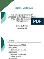 S.sullivan DBMS