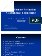 FEM in Geotech Engineering