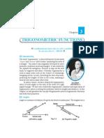 Class11 Mathematics Unit03 Trigonometry Functions