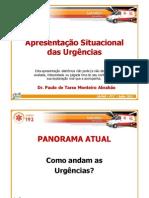 1.+Apresentação+Situacional+das+Urgências+(2011)