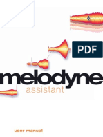 Manual Melodyne Assistant 1.2 English