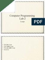 Computer Programming Lab 2